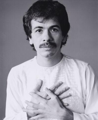 Herb Greene, 'Carlos Santana', 1972