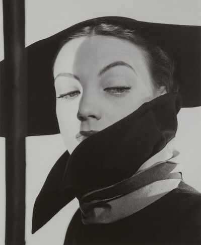 Erwin Blumenfeld, '[Hat Fashion, Dior, New York]', 1946