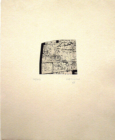 Eduardo Chillida, 'La indetenible quietud VI'