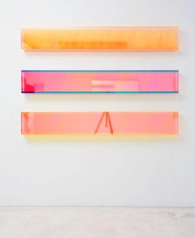 Regine Schumann, 'color rainbow and soft new york horizontal', 2016