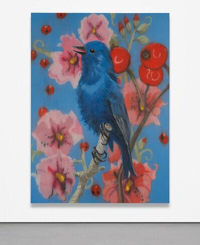 Ann Craven, 'Big Blue Song', 2004