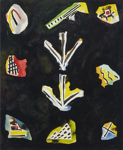 David Bolduc, 'Sketch 9', 1982