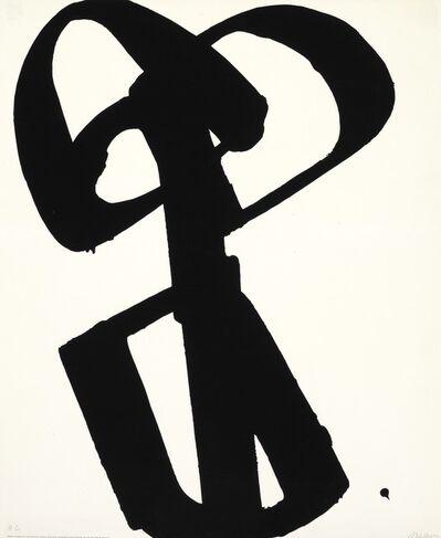 Pierre Soulages, 'Sérigraphie no. 1', 1973