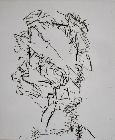 Frank Auerbach, 'Julia, from: Seven Portraits', 1989/90