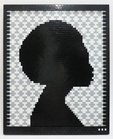 Faatimah Mohamed-Luke, 'Reflections of a Queen II - Yoruba (Grey)', 2018