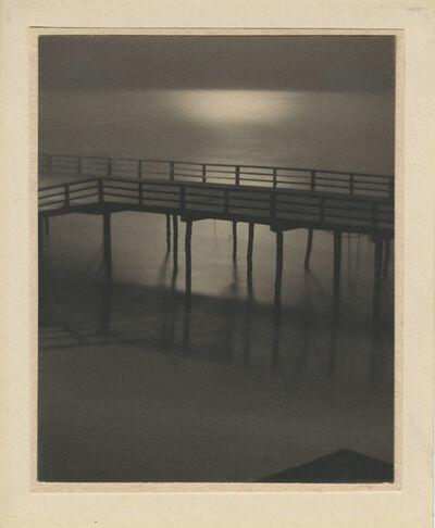 "Karl Struss, '""Arverne, Boardwalk by Moonlight""', 1912"