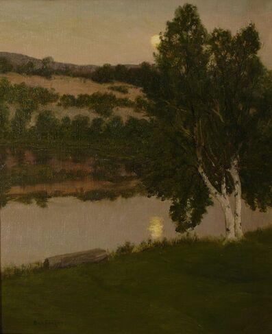 Ben Foster, 'Moonlight Birches', ca. 1905