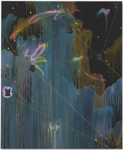 Fiona Rae, 'Memory origin space', 2013