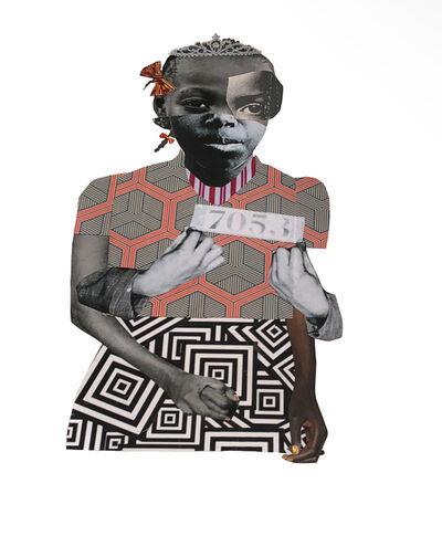 Deborah Roberts, 'Breaking ranks', 2018