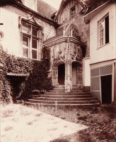 Eugène Atget, 'Beauvais, rue de l'Abbé Gelée', 1904