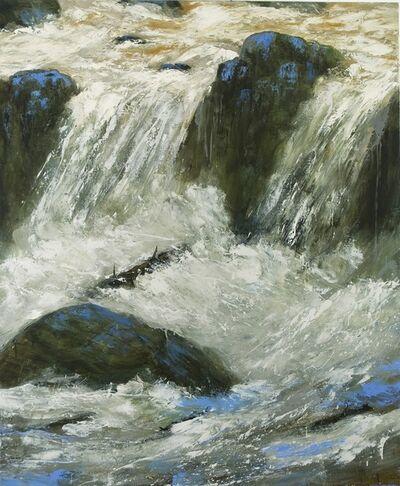 Réal Calder, 'Rapide blanc II', 2012