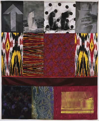 Robert Rauschenberg, 'Samarkand Stitches V', 1988