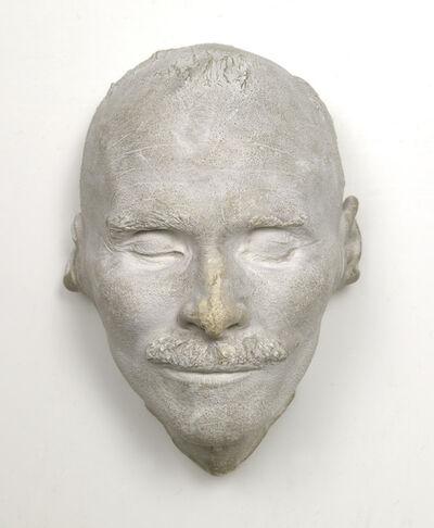 Moriz Schroth, 'Death mask of Gustav Klimt', 1918