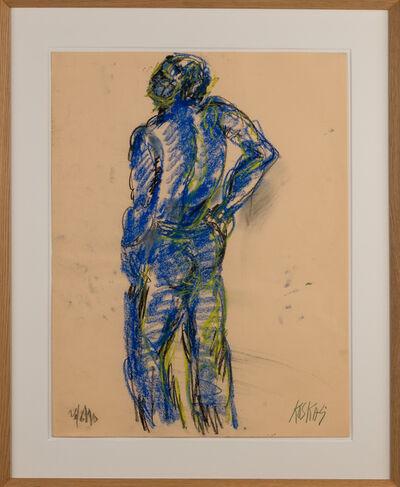 "Georges Koskas, '""Nu Bleu""', 1990"