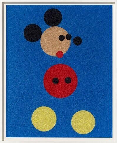 Damien Hirst, 'Mickey (Blue Glitter) ', 2016