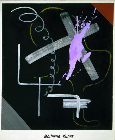 Sigmar Polke, 'Modern Art (Moderne Kunst)', 1968
