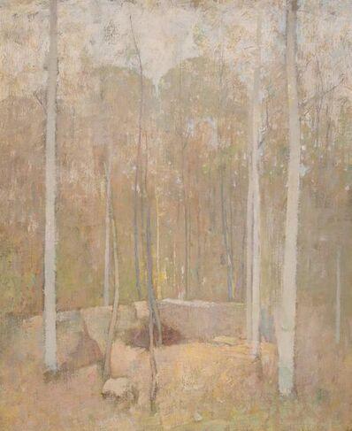 Soren Emil Carlsen, 'Autumn Forest', circa 1919