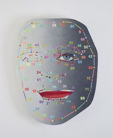 Tony Oursler, '|#•,', 2016