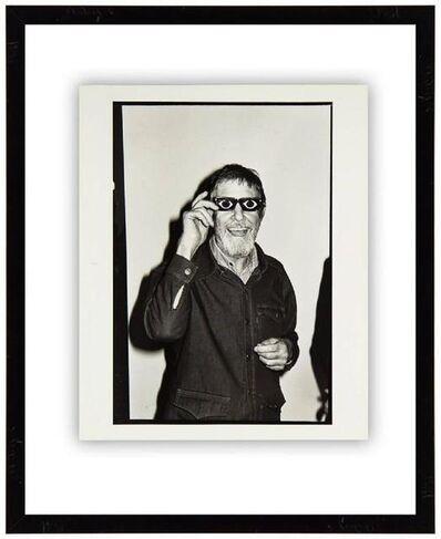 Fred W. McDarrah, 'John Cage, 1977, Vintage Silver Gelatin Signed Photograph', 1970-1979