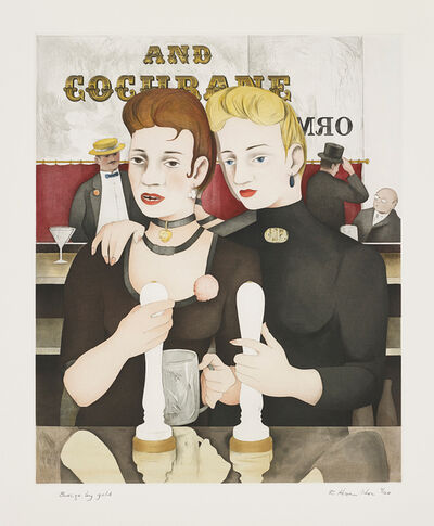 Richard Hamilton, 'Bronze by Gold', 1985-87