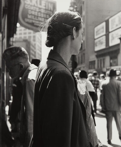 Dorothea Lange, 'Union Square, New York', 1952