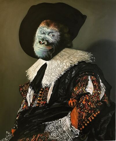 Anastasia Belous, 'Laughing Cavalier, aristocrat gorilla', 2019