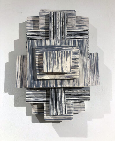 Sue Havens, 'Untitled (Grey Zig Zag)', 2011