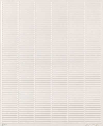 Jan Schoonhoven, 'untitled M-IV', 1972