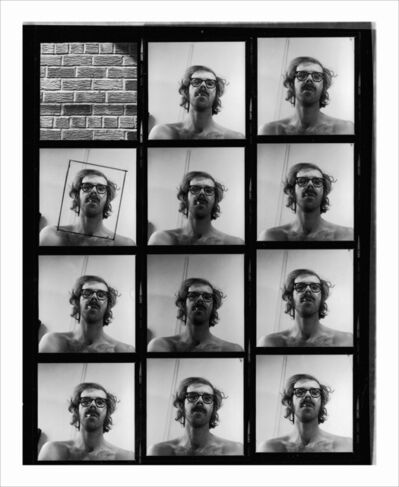 Chuck Close, 'Untitled (Self-Portrait Contact Sheet)', 1967/1999