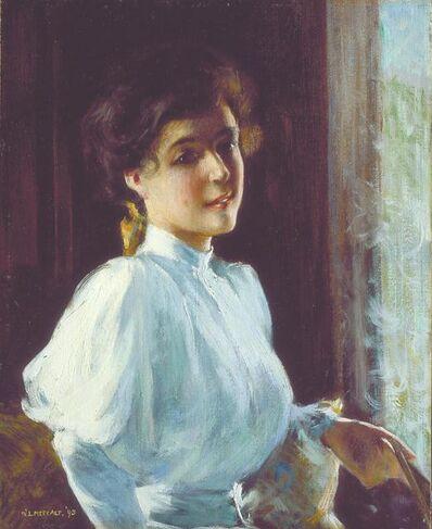 Willard Leroy Metcalf, 'A Young Woman', 1893