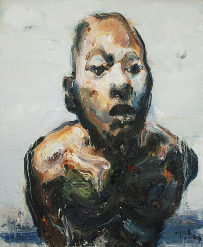 Zhengyong Liu, 'The person who leans forward', 2013