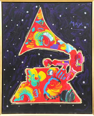 Peter Max, 'Grammy', 1991