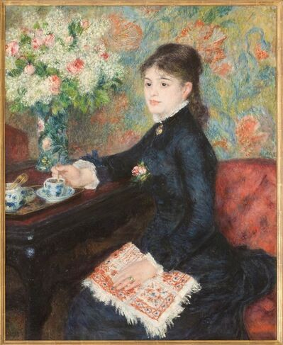 Pierre-Auguste Renoir, 'The Cup of Chocolate', about 1877-8