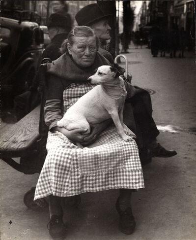 Edouard Boubat, 'Avenue de Clichy, Paris', 1948/1948