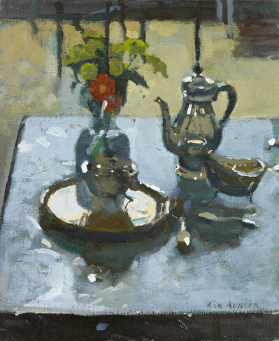 Ken Howard, 'Still Life with Silver', 2018