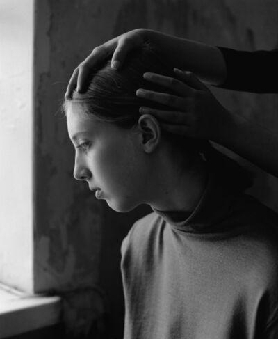 Nelli Palomäki, 'Vera holding Dora, 2018'
