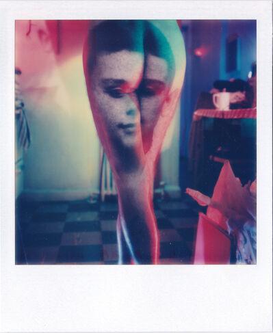 Lucas Samaras, 'Photo transformation (Face on Backyards)', 1976