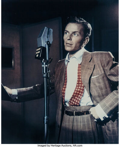 William Gottlieb, 'Frank Sinatra', 1947