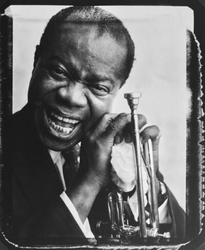 Bert Stern, 'Louis Armstrong', 1958