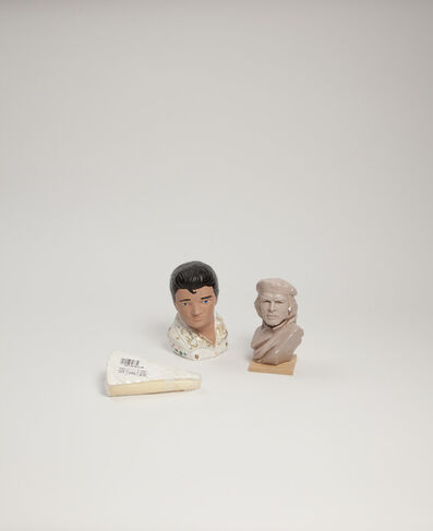 Liliana Porter, 'Joan of Arc, Elvis, Che ', ca. 2011
