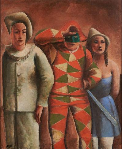 Henri Hayden, 'Untitled (Clowns)'