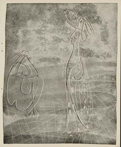 Pablo Picasso, 'Frontispiece (La Chevre-Feuille, B.361)', 1943