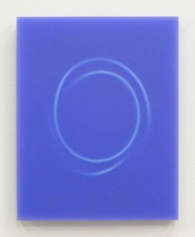 Rosha Yaghmai, 'Panel, Blue', 2016