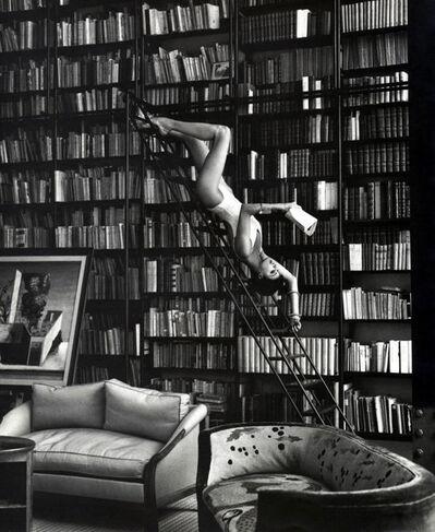 Steven Meisel, 'Linda in Library', 1993