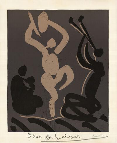 Pablo Picasso, 'Bacchanale avec une femme assise tenant un bébé (Bacchanale with Seated Woman Holding a Child)', 1959