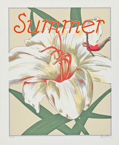 Paula Scher, 'Summer', ca. 1987