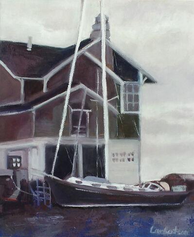 Judith Lambertson, 'Watch Hill Boat Club', 2018