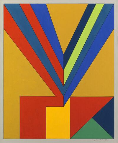 Guy VandenBranden, 'Abstract Composition', 1973