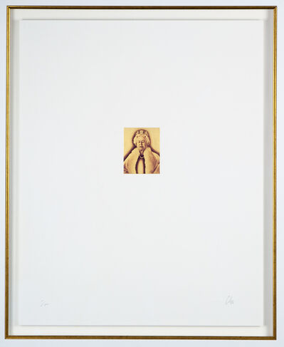 Chris Levine, 'Lightness of Being Gold Elton John Aids Foundation Edition', 2018
