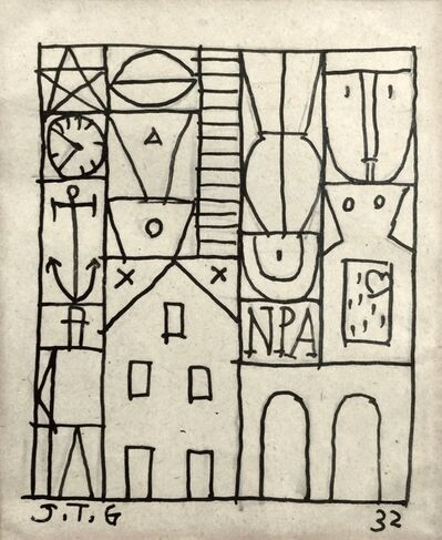 Joaquín Torres-García, 'Constructivo', 1932